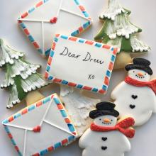 Whipped Bakeshop cookies for Dear Drew, Drew Barrymore's new store