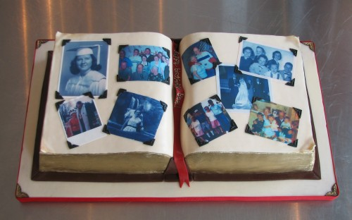 Whipped Bakeshop makes a scrapbook of memories for an 80th birthday