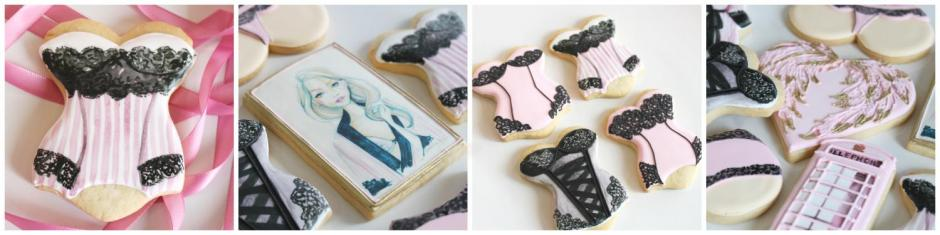 Victoria's Secret Lingerie Cookies by Whipped Bakeshop