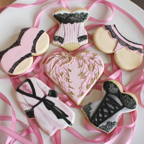 Victoria's Secret cookies by Whipped Bakeshop