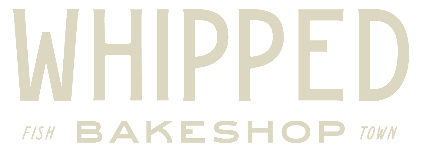 Contact us at Whipped Bakeshop