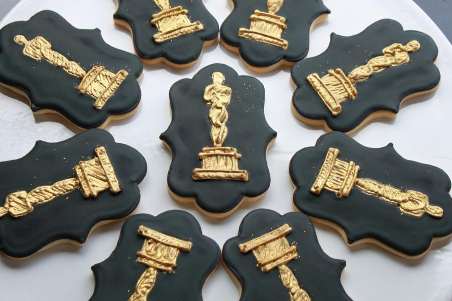 Academy Awards Cookies by Whipped Bakeshop