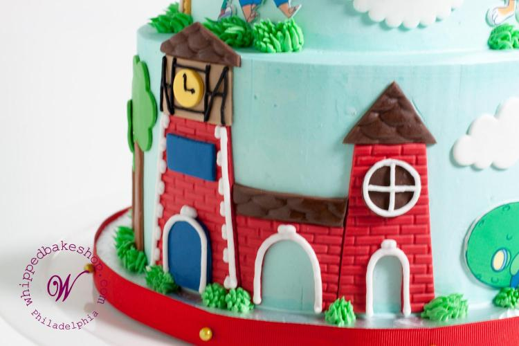 Busy Town Cake