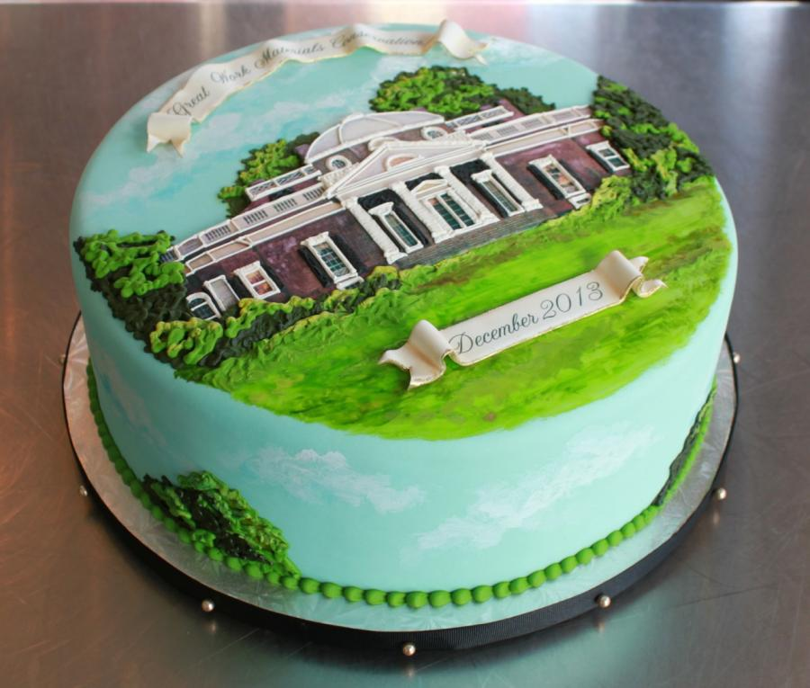 Monticello Cake by Whipped Bakeshop