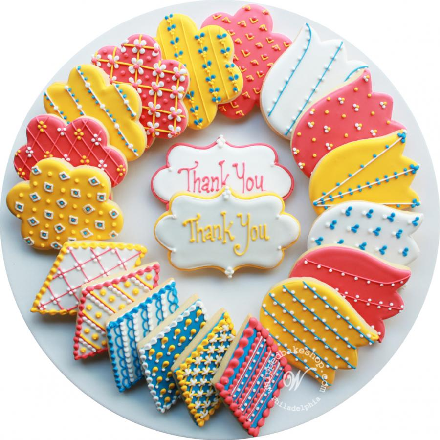 Thank You Cookies by Whipped Bakeshop Philadelphia