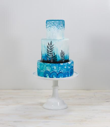 Undersea wedding cake by Whipped Bakeshop