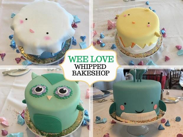 Wee Wander Features Whipped Bakeshop Mini Animal Cakes