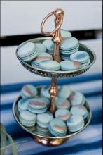 Painted Macarons by Whipped Bakeshop in Philadelphia
