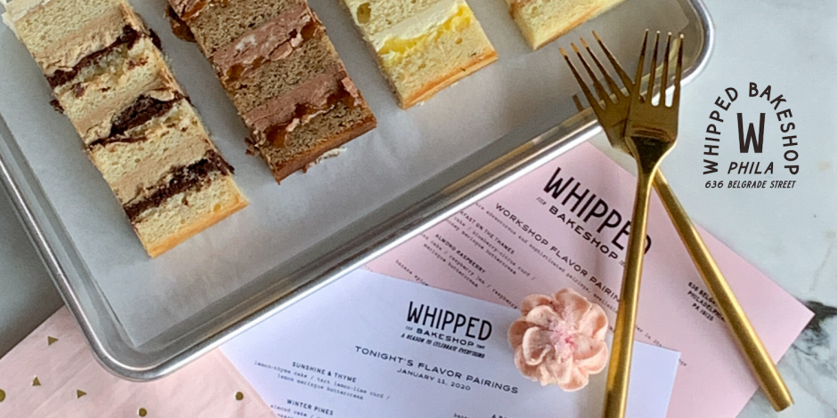 Cake Tasting Events at Whipped Bakeshop are the Perfect Way to Plan Your Philadelphia Wedding Cake