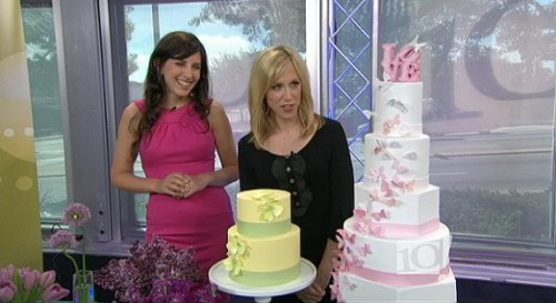 Knot Editor talks about Anja Winikka Whipped Bakeshop on the NBC 10 Show