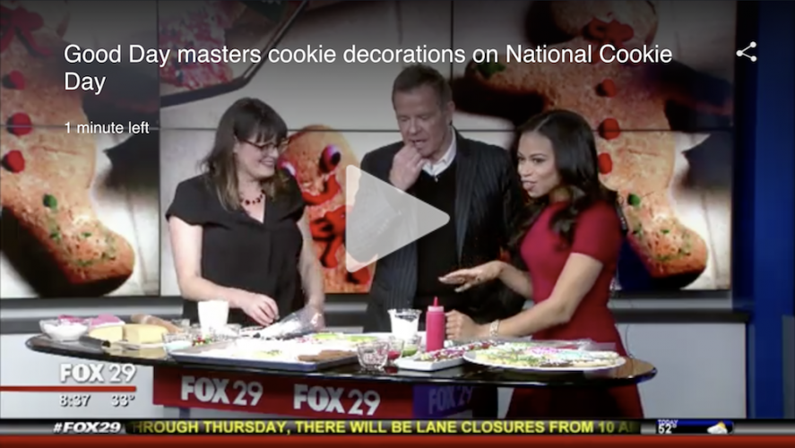 Zoe Lukas of Whipped Bakeshop appeared on Fox29 Good Day
